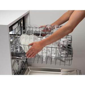 Bosch 800 Series 24 in  ADA Top Control Tall Tub Dishwasher in Custom Panel  Ready with Stainless Steel Tub and 3rd Rack, 44dBA
