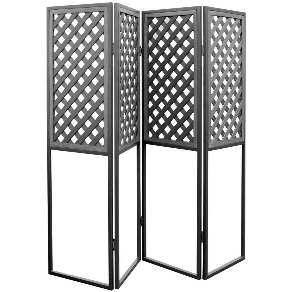 Cal Metro 20 in. x 72 in. Spa Privacy Screen in Mist