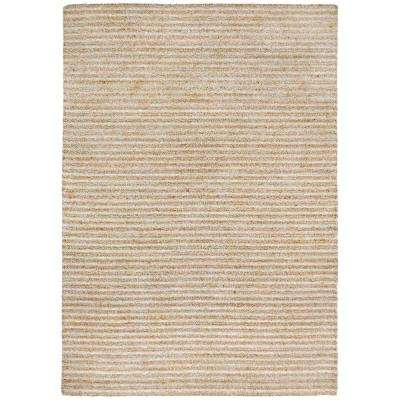 Raleigh Mini Stripe Neutral 5 ft. x 7 ft. 6 in. Rectangle Indoor/Outdoor Area Rug