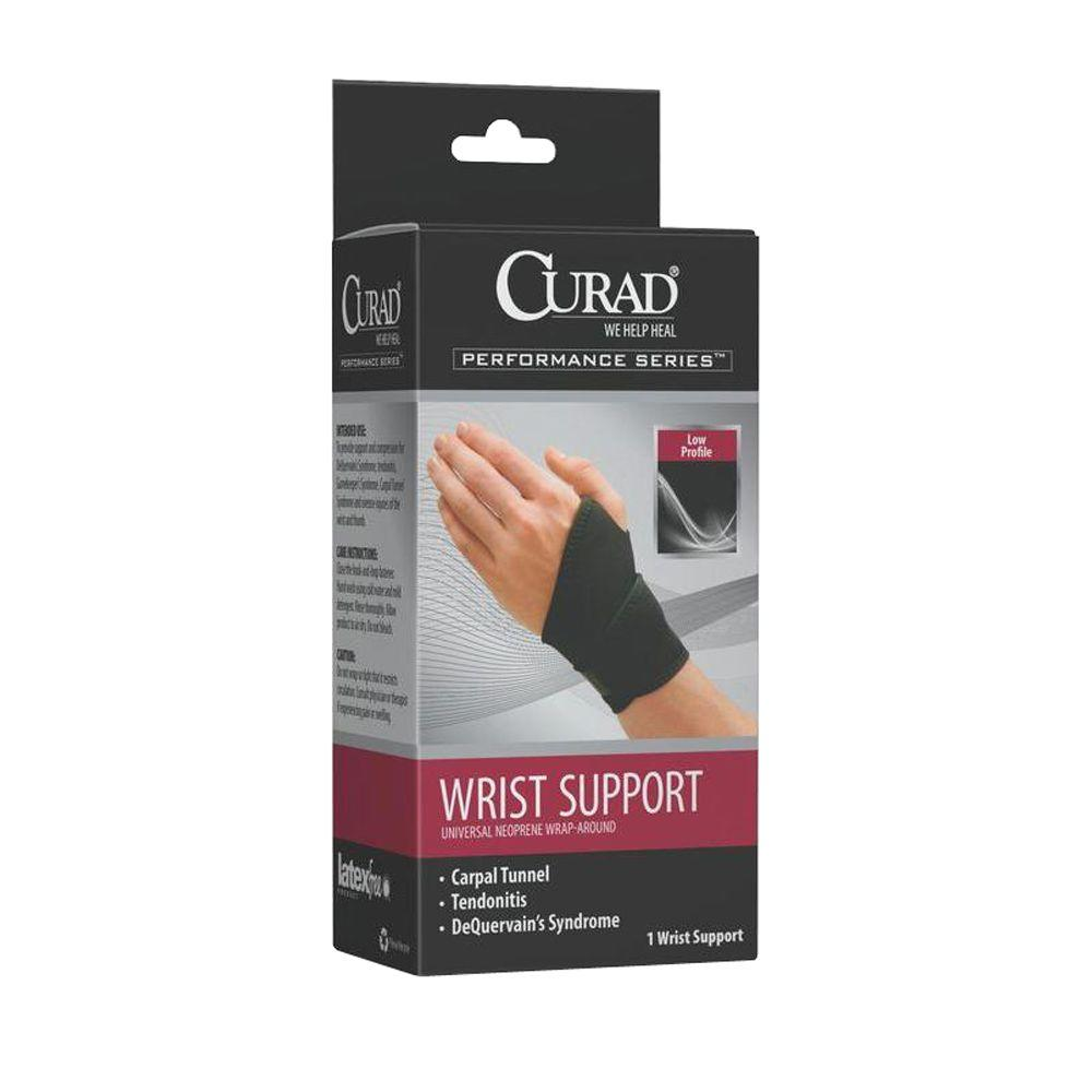 Curad Small Elastic Wrist Band Ort19500sdh The Home Depot