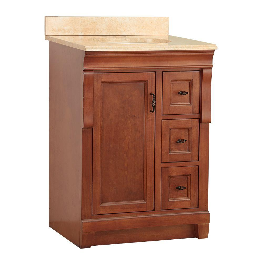 Foremost naples 25 in w x 22 in d vanity in warm for Foremost homes