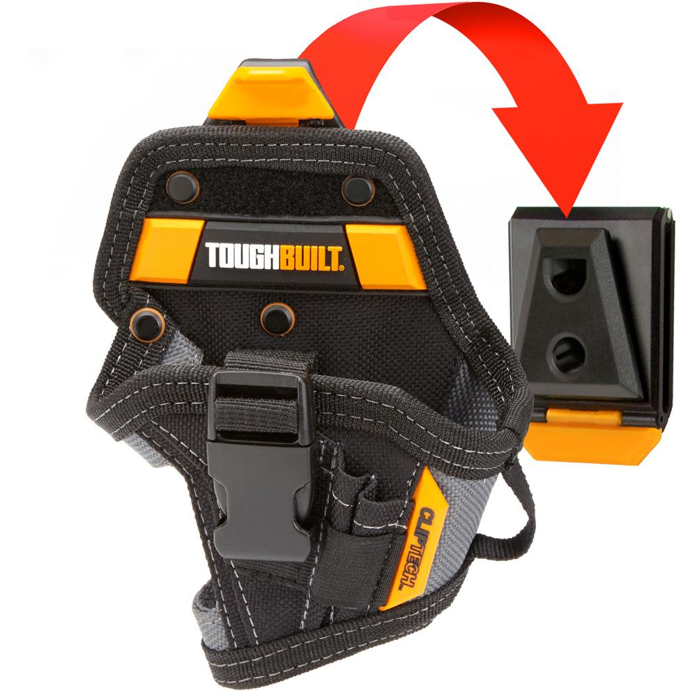 Adesso TOUGHBUILT Lithium-Ion Drill Holster, Black