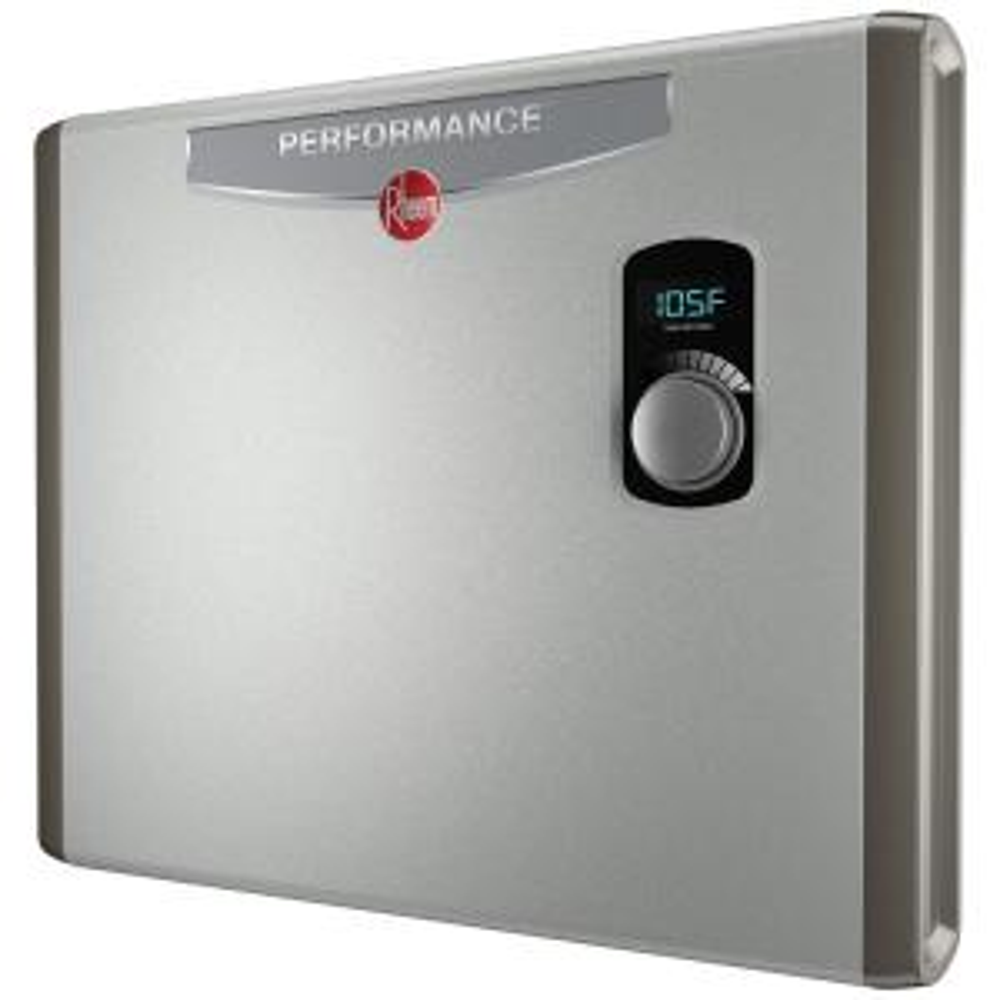 rheem performance 36 kw self-modulating 6 gpm electric tankless water heater
