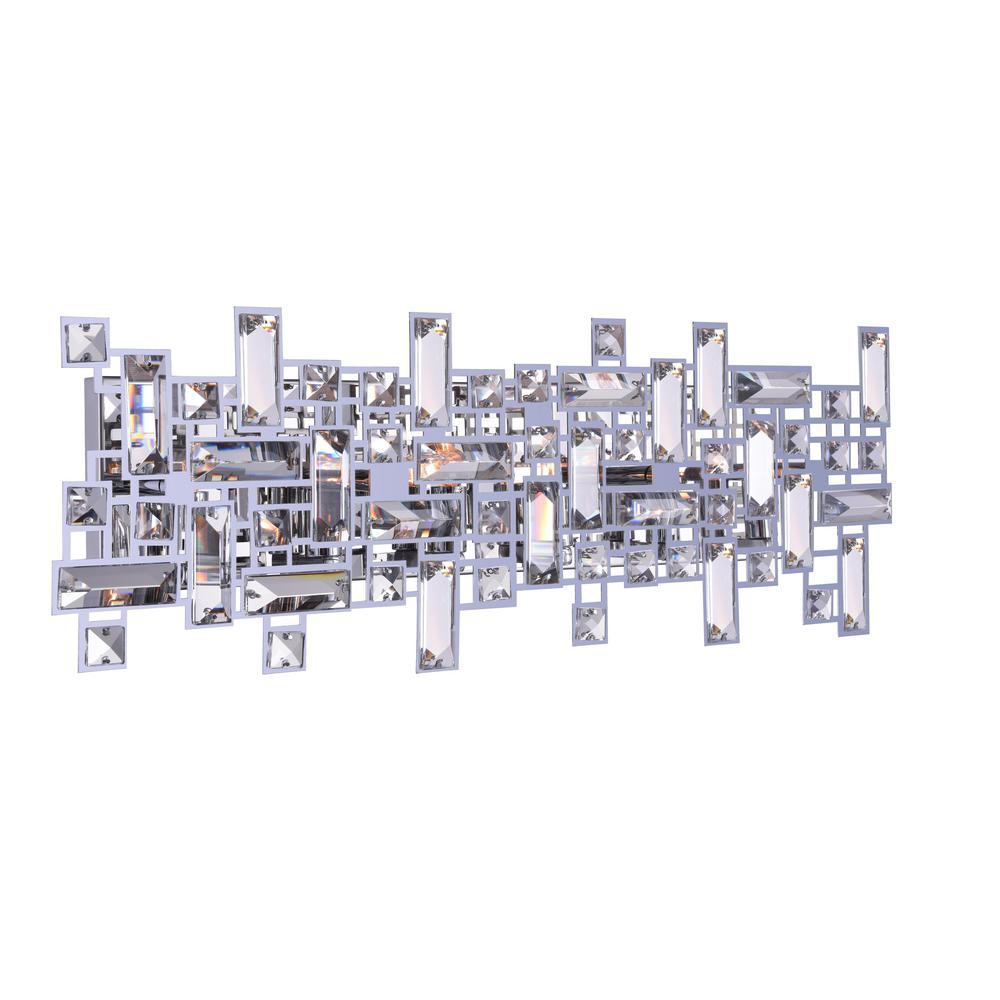 Arley 6-Light Chrome Sconce