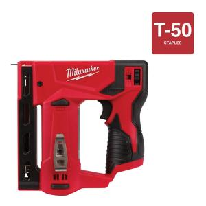 Milwaukee M12 12-Volt Lithium-Ion Cordless 3/8 inch Crown Stapler (Tool-Only) by Milwaukee