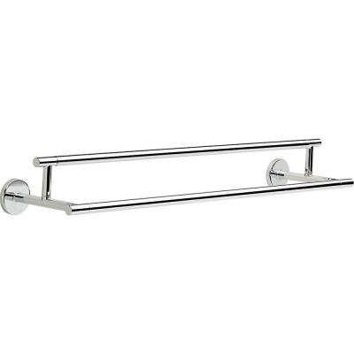 Trinsic 24 in. Double Towel Bar in Chrome