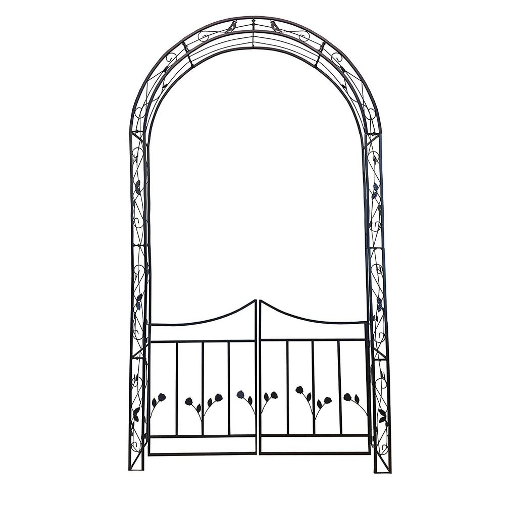 High Quality Rosetta Garden Arch And Gate