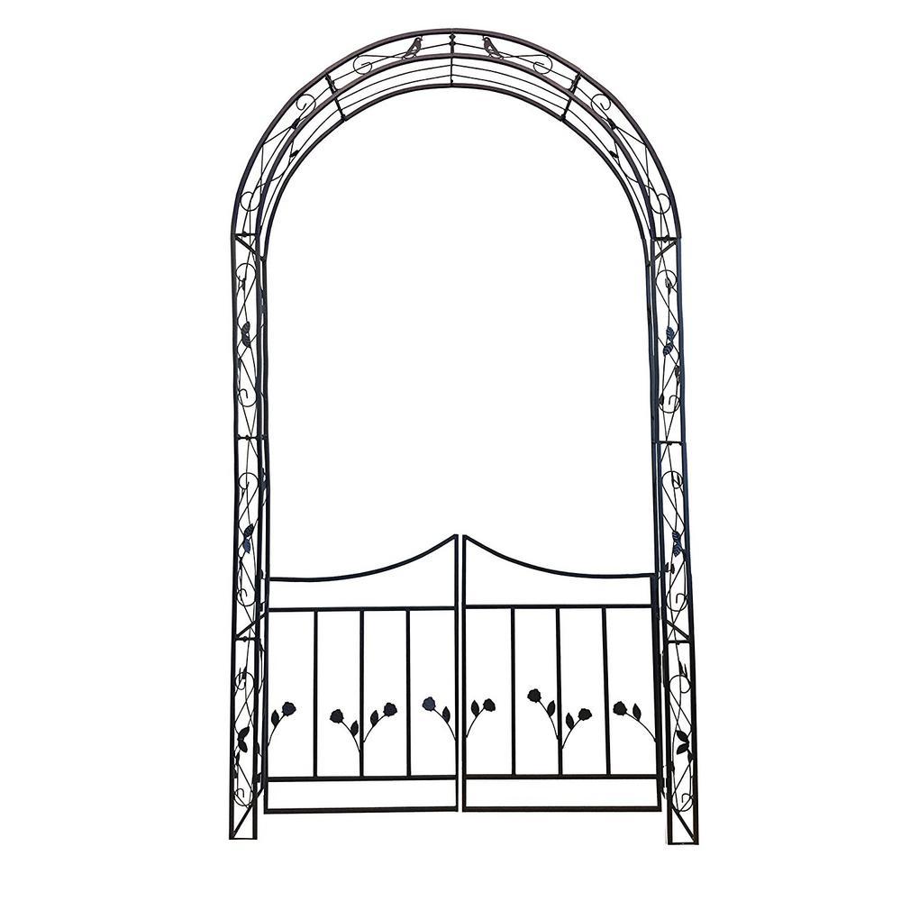 Rosetta Garden Arch and Gate