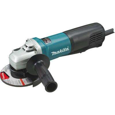 13 Amp Corded 5 in. SJS Paddle Switch Angle Grinder