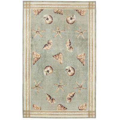 Sand and Sea Cool 8 ft. x 10 ft. Area Rug