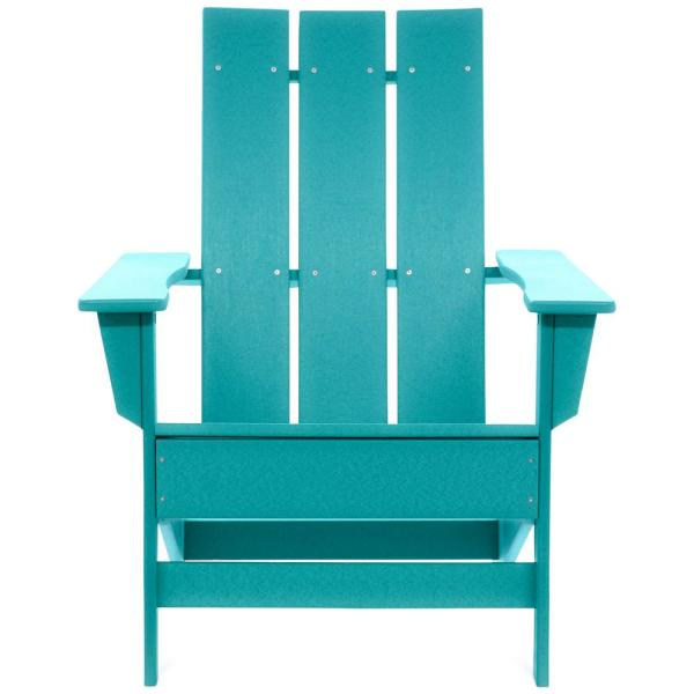 Aria Aruba Recycled Plastic Modern Adirondack Chair