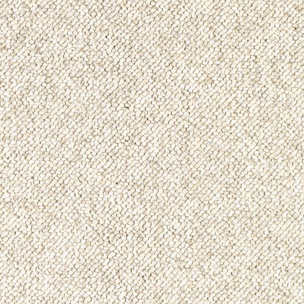 Qualifier - Color Antique Ivory Loop 12 ft. Carpet