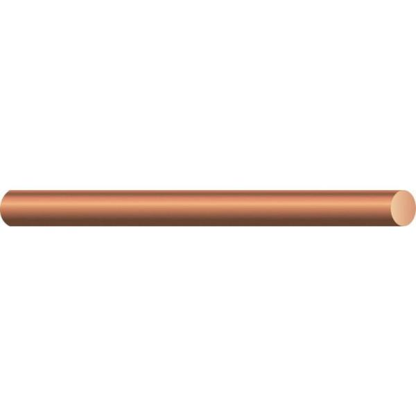 (By-the-Foot) 10-Gauge Solid SD Bare Copper Grounding Wire