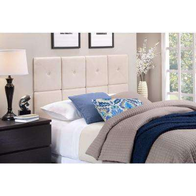 Tessa Natural Linen King Headboard