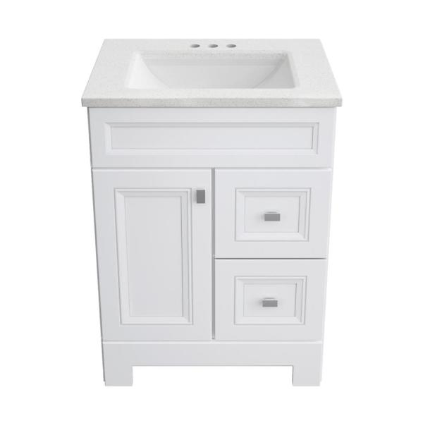 Home Decorators Collection Sedgewood 24, 24 Inch Bathroom Vanity With Top And Sink
