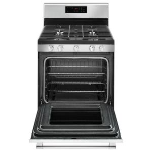 479a86d5500 Gas Range with 5th Oval Burner in Fingerprint Resistant Stainless Steel