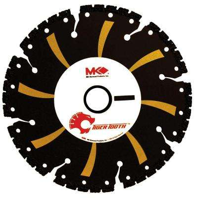 4-1/2 in. x 8 Tooth General Purpose Demolition with Vacuum-Brazed Core Circular Saw Blade