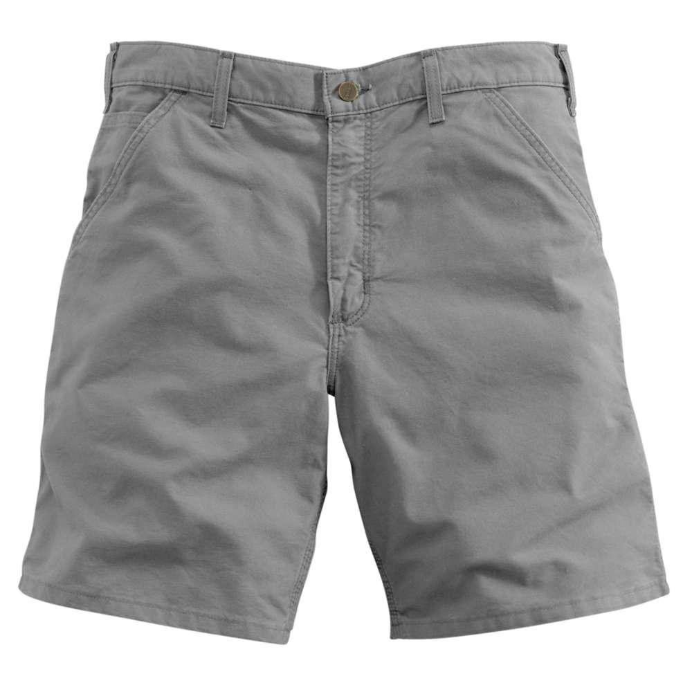 Men's Regular 34 Asphalt Cotton Shorts
