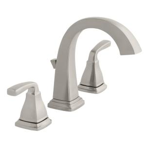 Home Impressions 2 Acrylic Handle Tub /& Shower Faucet Fancy Chrome Finish