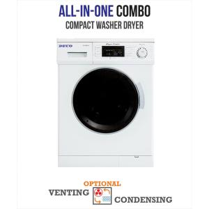 allinone rpm compact combo washer dryer with optional