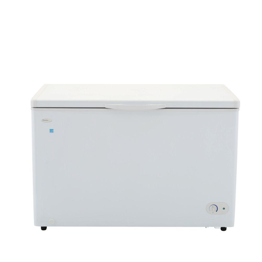 9.6 cu. ft. Chest Freezer in White