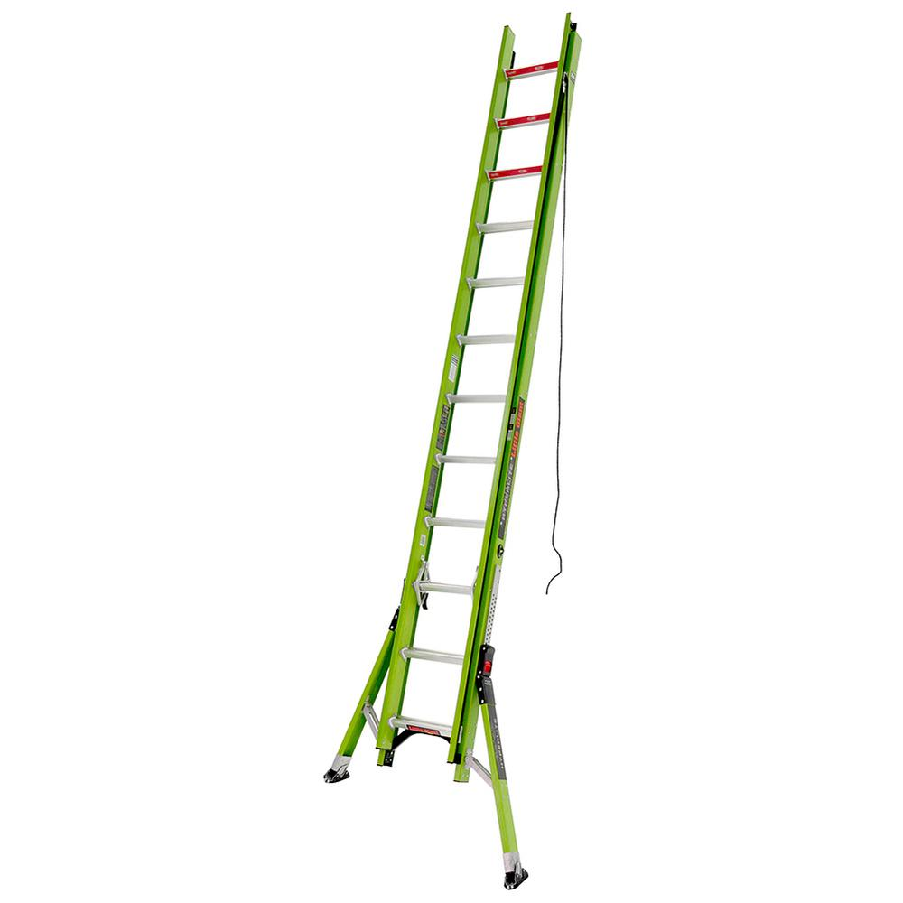 HyperLite W/Sumo 24 ft. TYPE IA Fiberglass Extension Ladder
