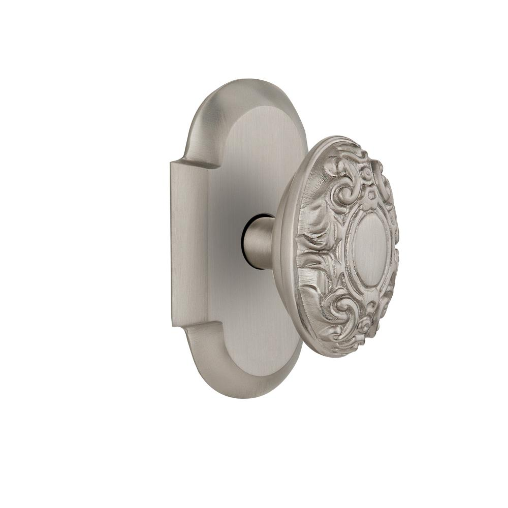 Kwikset Juno Satin Nickel Privacy Bed Bath Door Knob 730j