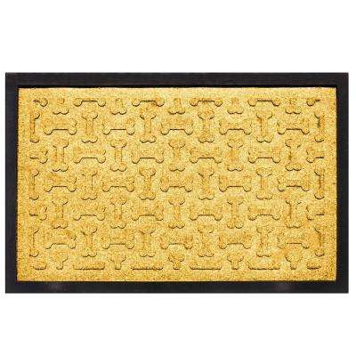 Yellow 18 in. x 27 in. Dog Treats Boot Tray