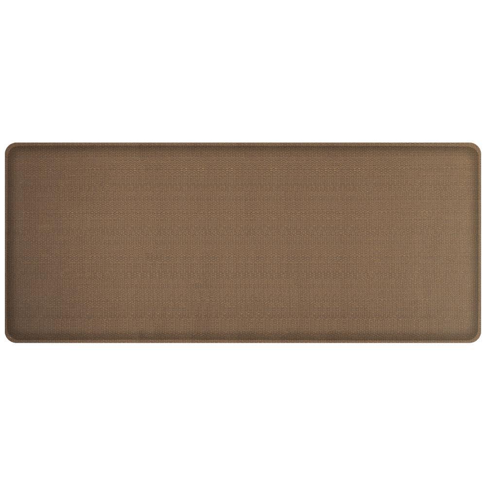 Gel Pro Kitchen Mat: GelPro Classic Rattan Honey Brown 20 In. X 48 In. Comfort