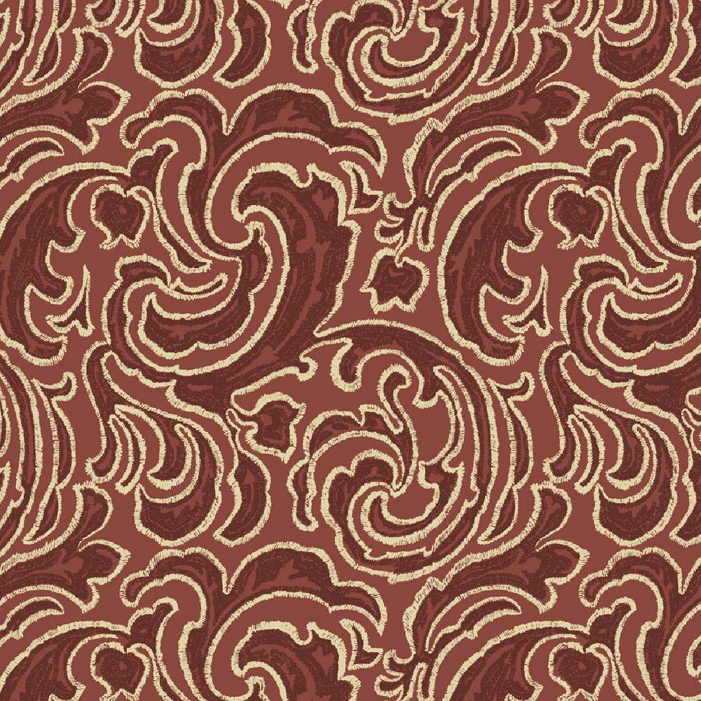 Hampton Bay Bargello Paisley Fabric by the Yard