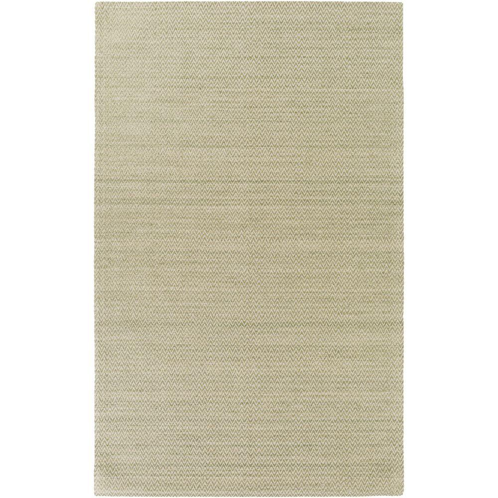 Conway Olive 5 ft. x 8 ft. Indoor Area Rug