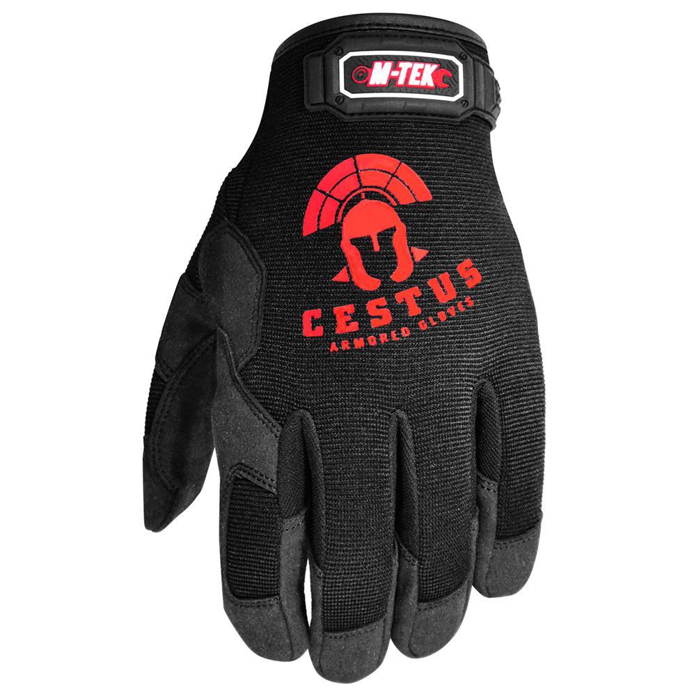 Large Black M-Tek Gloves