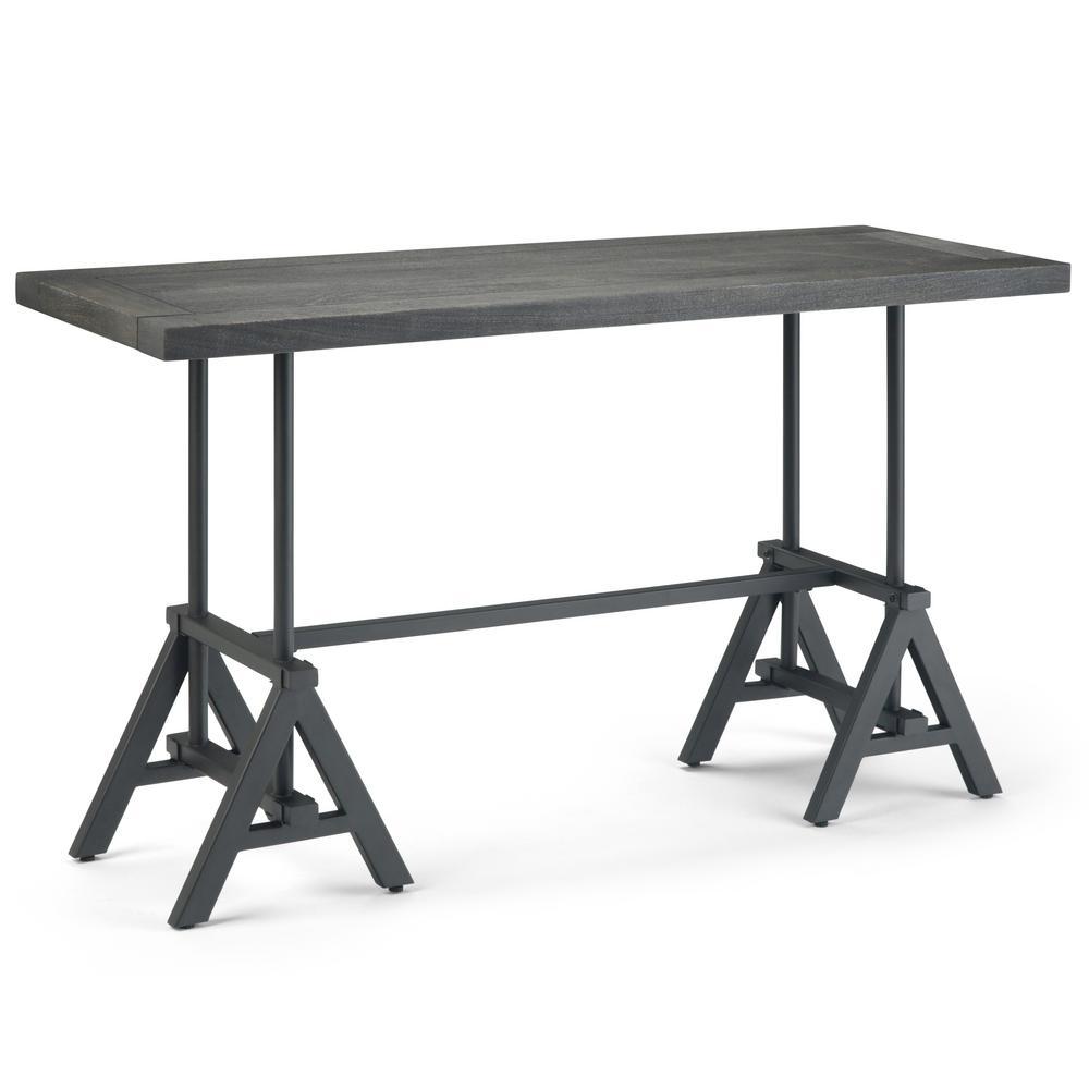 Sklar Distressed Dark Brown Console Table