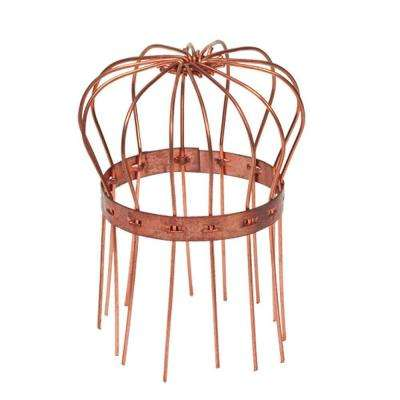 4 in. Copper Round Wire Strainer