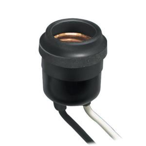 Weatherproof Socket, Black