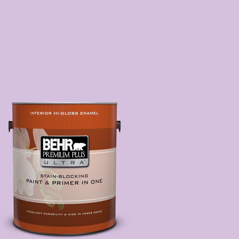 1 gal. #660A-3 New Violet Hi-Gloss Enamel Interior Paint