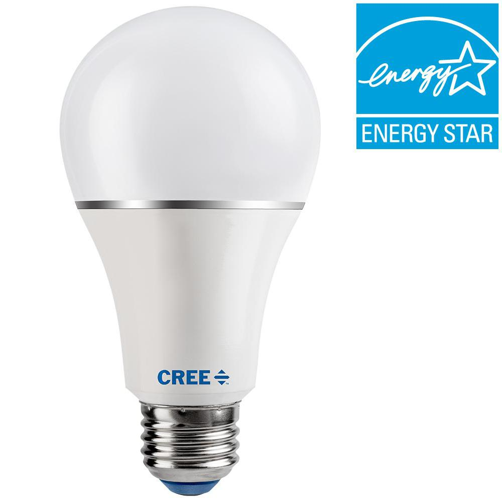 Cree 100W Equivalent Soft White (2700K) A21 Dimmable LED Light Bulb