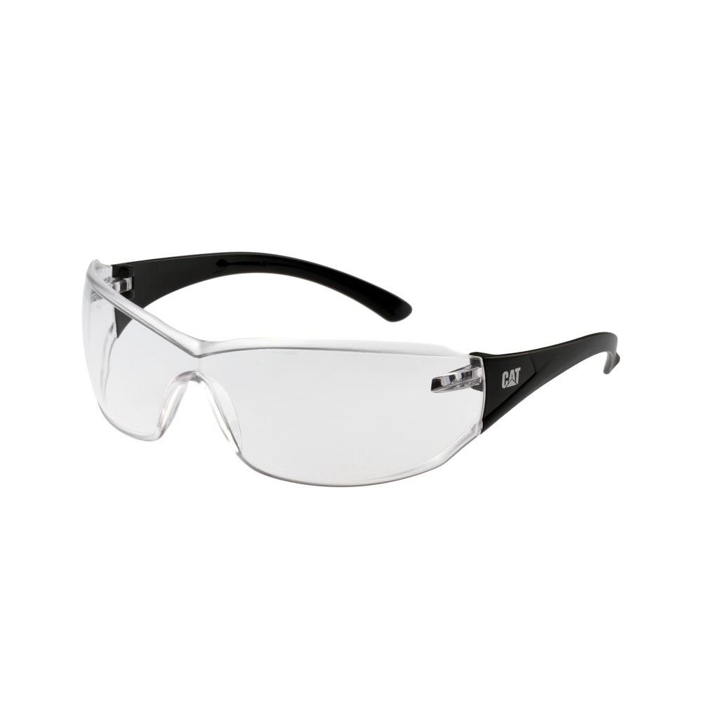 Safety Glasses Shield Clear Lens with Case