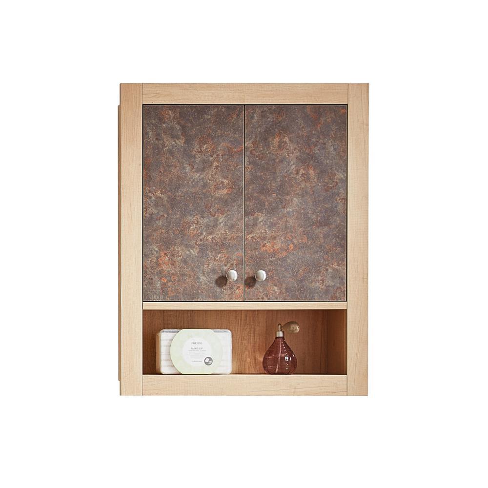 Alpine 30 in. W x 23.6 in. H Surface-Mount Medicine Cabinet