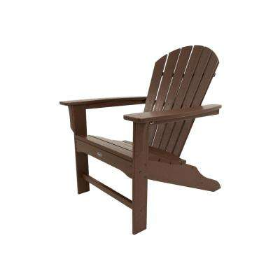 Yacht Club Shellback Vintage Lantern Plastic Patio Adirondack Chair