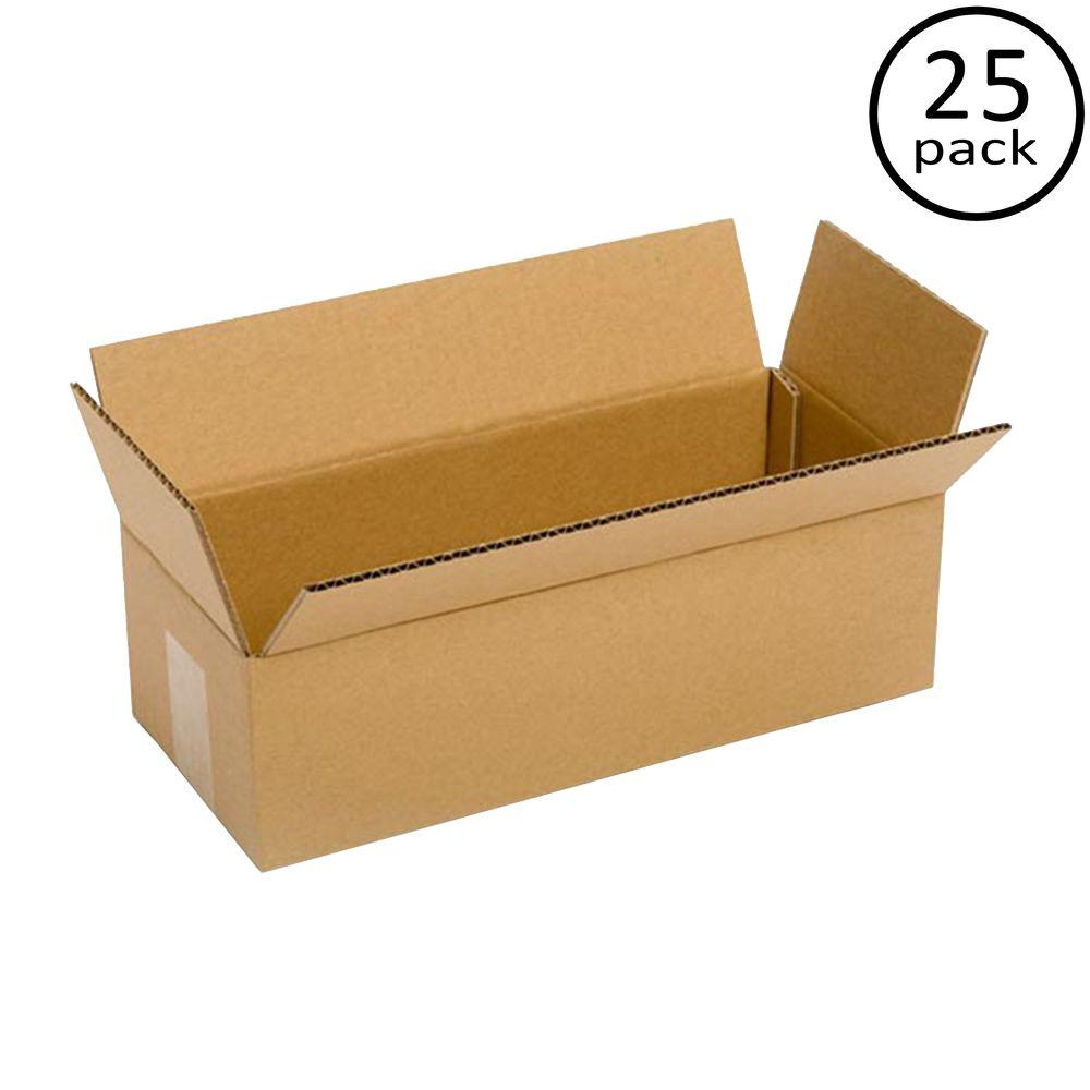 Plain Brown Box 14 In X 6 In X 4 In 25 Moving Box