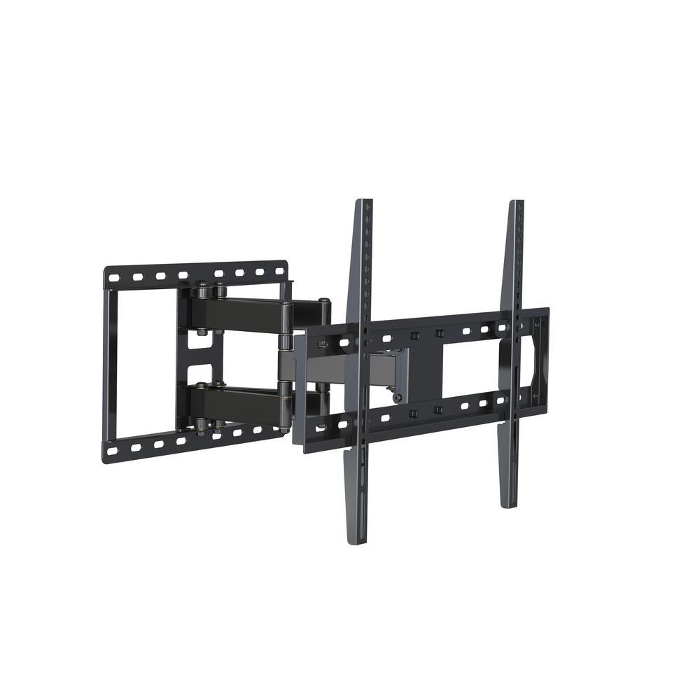"5 Pcs Full Motion TV TV Wall Mount Tilt 15°Bracket for 13/""-50/"" LCD//LED TV Black"