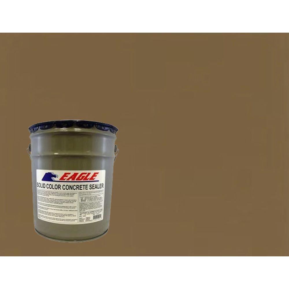 Eagle 5 gal. Chocolate Solid Color Solvent Based Concrete Sealer