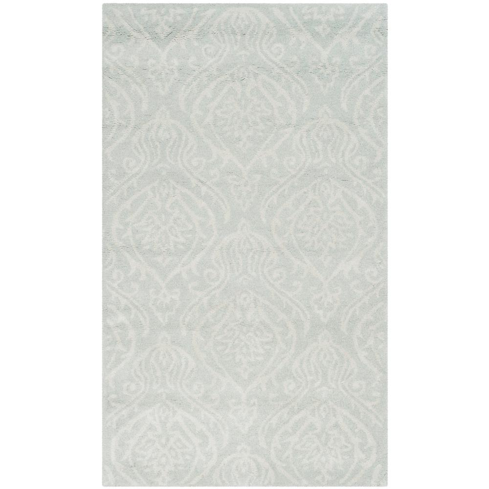 a232dc1e0 Safavieh Bella Silver Ivory 3 ft. x 5 ft. Area Rug-BEL445A-3 - The ...