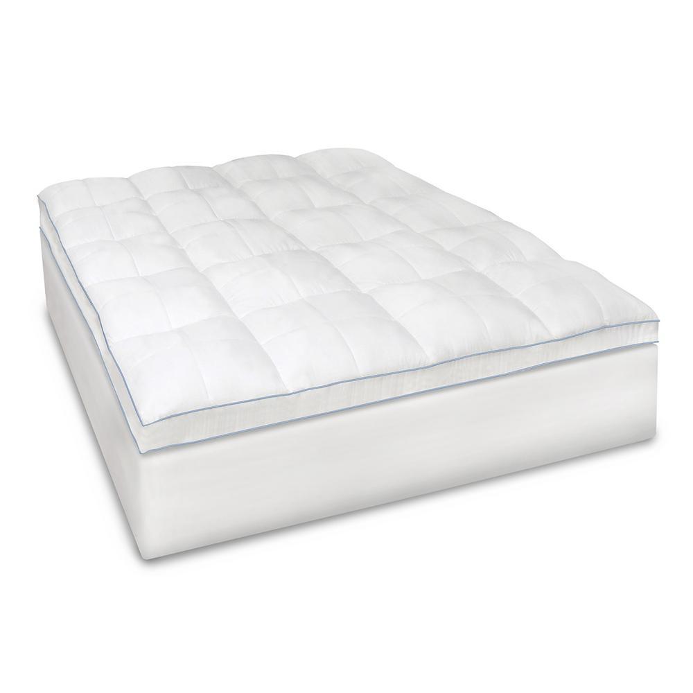 BioPEDIC Blended Memory Foam King Mattress Topper 94137