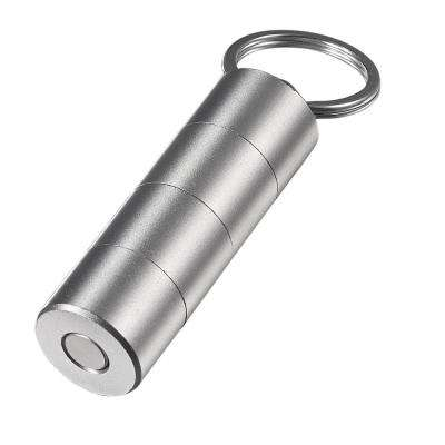 Torpedo 3-Cut Cigar Punch, Silver