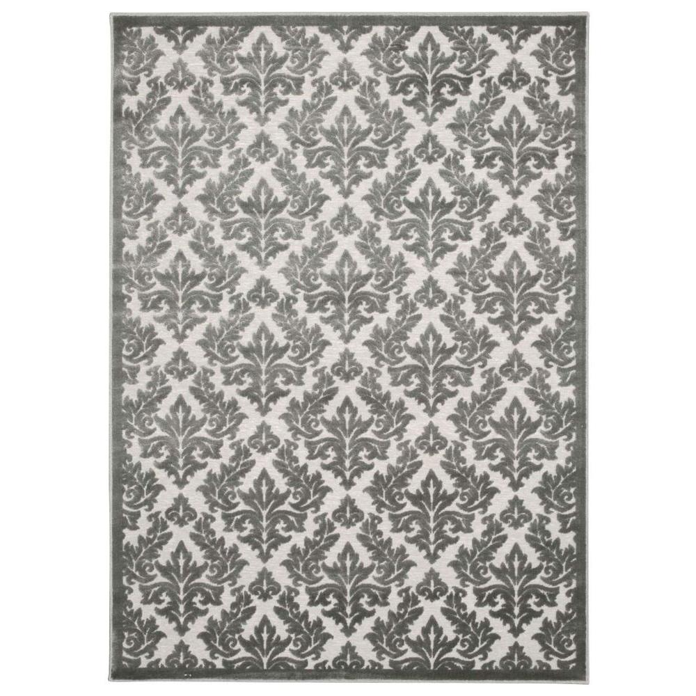 Overstock Area Rugs: Nourison Overstock Ultima Silver/Grey 2 Ft. 2 In. X 3 Ft