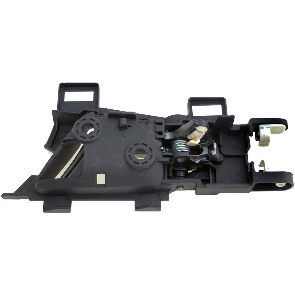 HELP Interior Door Handle Rear Right Silver Lever/Black