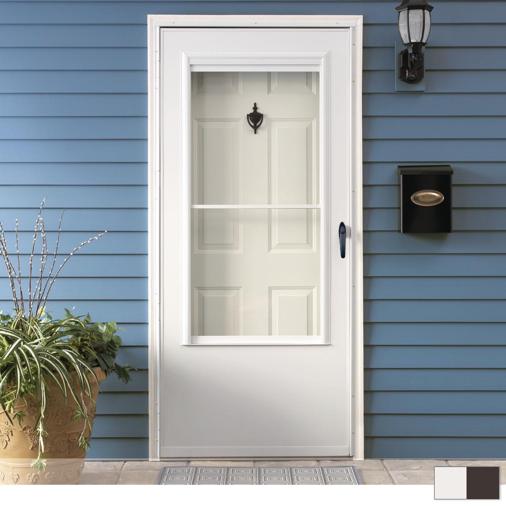 200 Series 3/4 View Self-Storing Storm Door