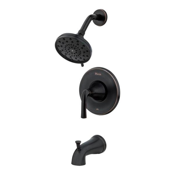 Pfister Pasadena Single-Handle 3-Spray Tub and Shower Faucet in Tuscan Bronze